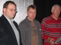 Michael Schwarz, Maik Wetterling und Wolfgang Schwacke