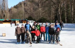 Eislaufen mit Wolf und Wolfgang
