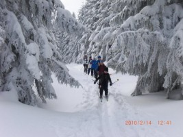 Skitour im Harz